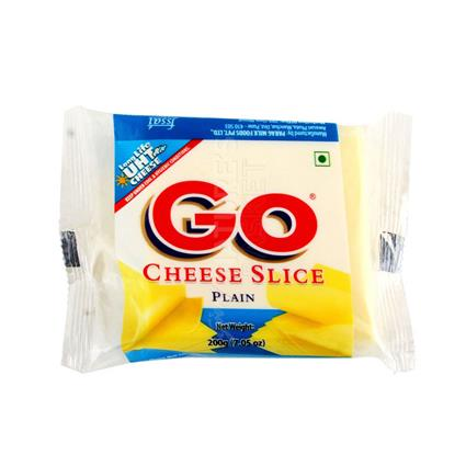 Go Cheese Slice Plain - Gowardhan