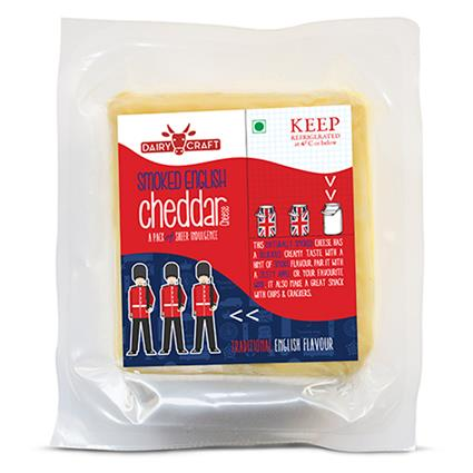 DAIRY CRAFT SMKED ENG CHDDAR CHEESE 200G
