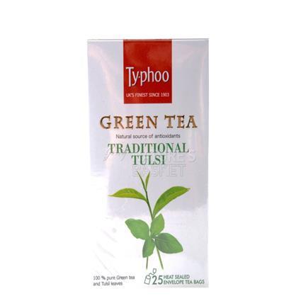 Green Tea Traditional Tulsi - Typhoo