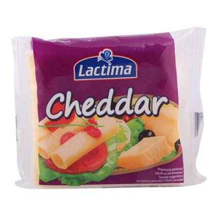 Cheddar Cheese Slices - Lactima