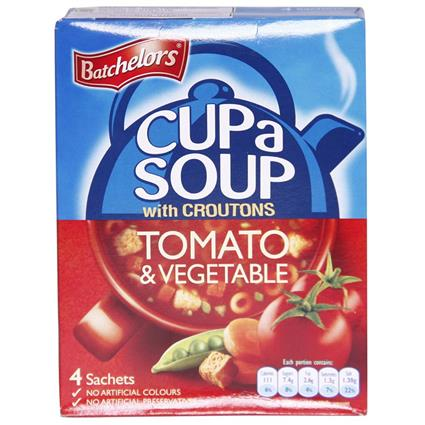 Cup A Soup W/ Croutons Tomato & Vegetable - Batchelors