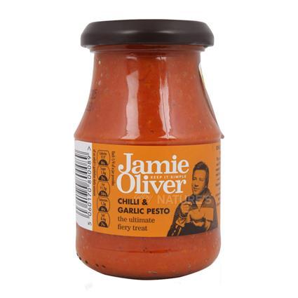 Chili & Garlic Pesto - Jamie Oliver