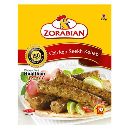 Chicken Seekh Kabab - Zorabian
