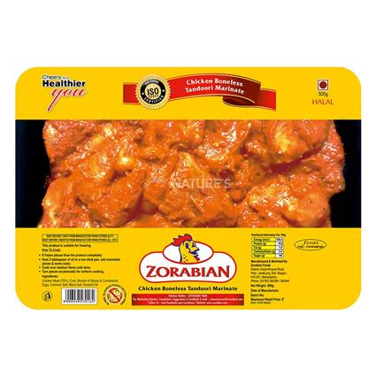 Marinated Chicken Boneless Tandoori - Zorabian