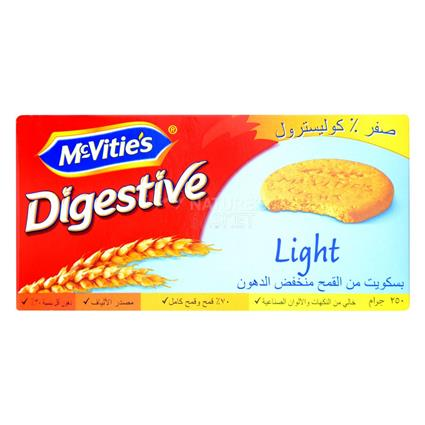 Light Digestive Biscuits - Mcvities