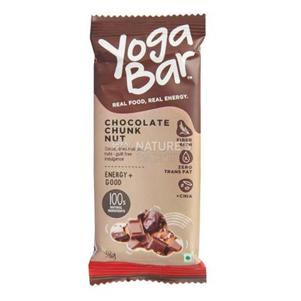 Chocolate Chunk Nutrition Bar - Yoga Bar