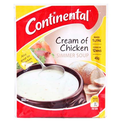 Cream Of Chicken Simmer Soup - Continental