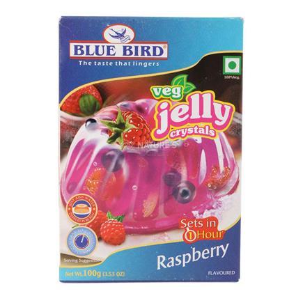 Jelly Crystal  -  Strawberry - Blue Bird