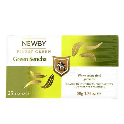 Green Sencha Tea  -  25 TB - Newby