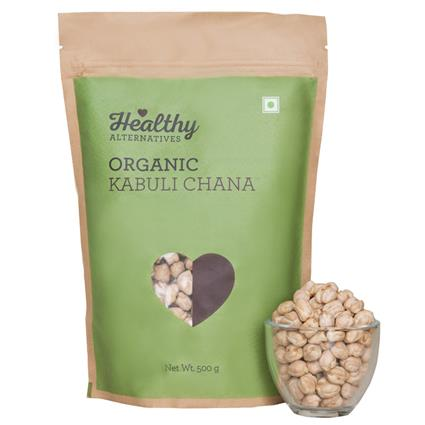 Organic Kabuli Chana - Healthy Alternatives