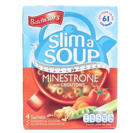 Slim A Soup  -  Minestrone W/ Croutons - Batchelors