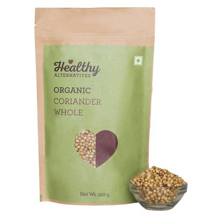 Organic Coriander Whole - Healthy Alternatives