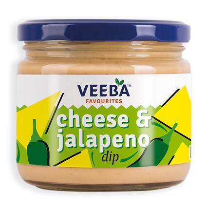 VEEBA CHEESE & JALAPENO DIP 300G