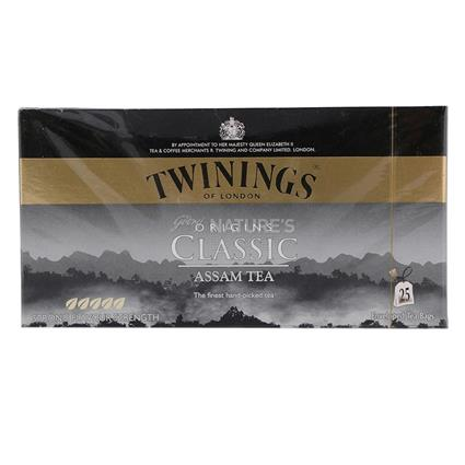 Classic Assam Tea  -  25 TB - Twinings