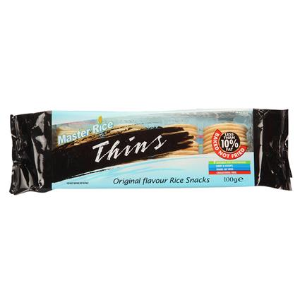 Thins Original Rice Snacks - Master Rice