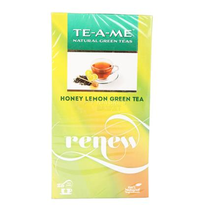 Renew Honey & Lemon Green Tea  -  25 TB - TE-A-ME