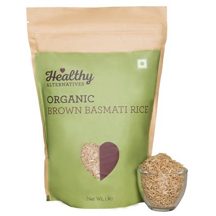 Organic Brown Basmati Rice - Healthy Alternatives
