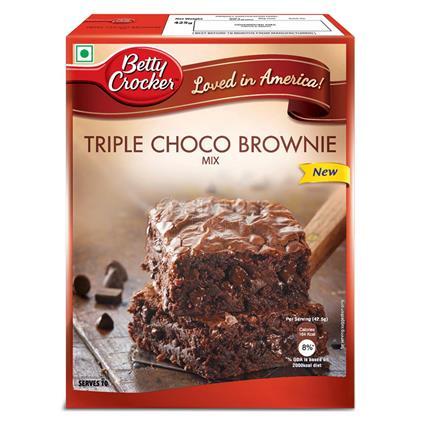BETTY CROCKER TRPL CHOC BROWNIE MIX 425G