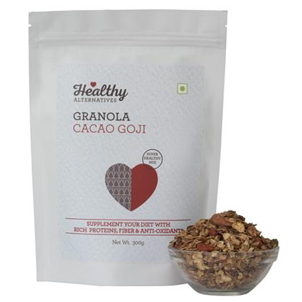 Cacao Goji Granola - Healthy Alternatives