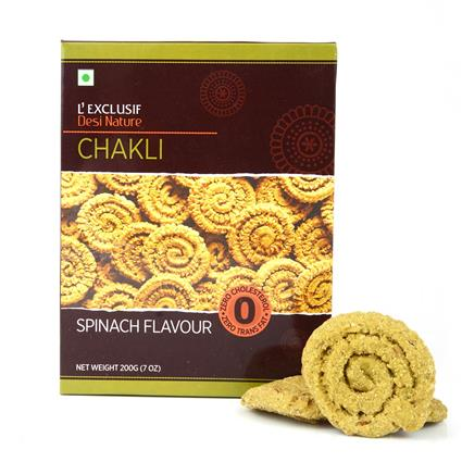 Chakli  -  Spinach Flavour - L'exclusif