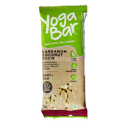 Cardamom Coconut Chocolate Bar - Yoga Bar