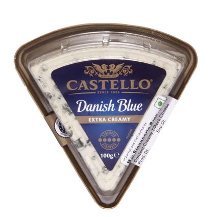 Danish Blue Extra Creamy Cheese - Castello