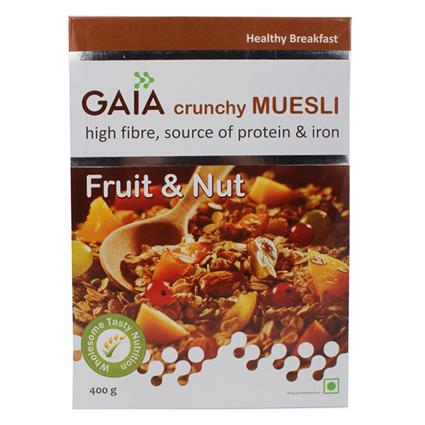 Crunchy Muesli  -  Fruit & Nuts - Gaia