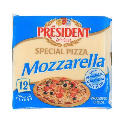 Mozzarella Processed Cheese Slice - President