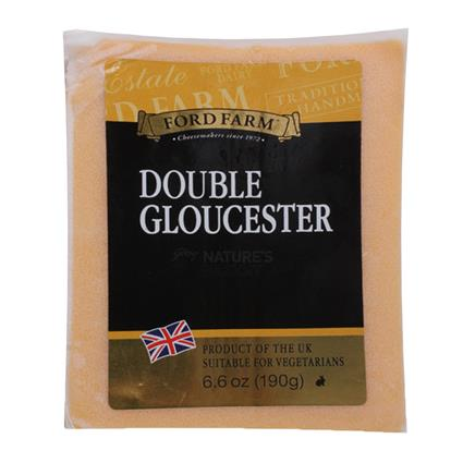 Double Gloucester Cheese - Ford Farm