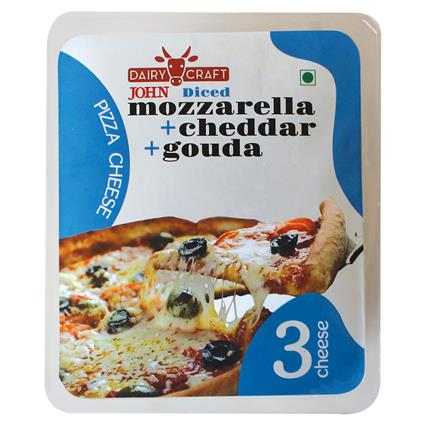 JOHNS 3 CHEESE GRATED PIZZA 200G