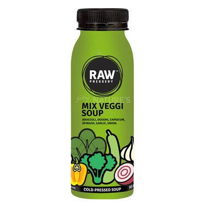 Cold Pressed Mix Veggi Soup - Raw Pressery