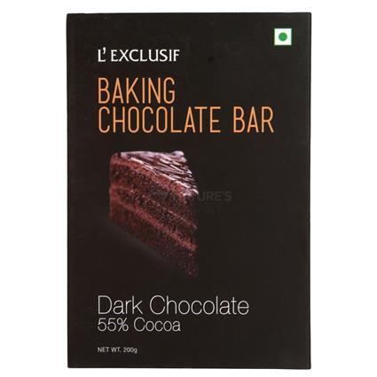 Dark Chocolate Baking Bar - L'exclusif