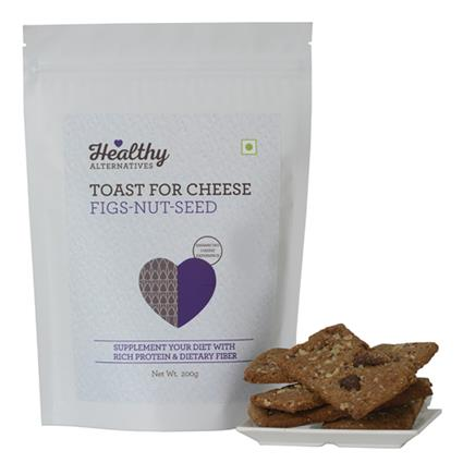 Toast Cheese Figs & Nut Seed Mix - Healthy Alternatives