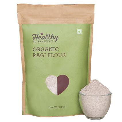 Organic Ragi Flour - Healthy Alternatives