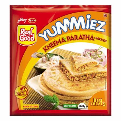 Chicken Kheema Paratha - Yummiez