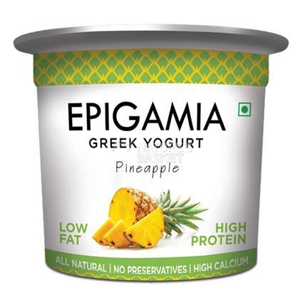 Pineapple Greek Yoghurt - Epigamia