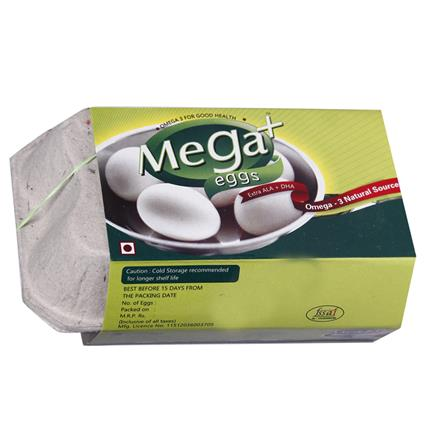 Mega Plus Eggs  -  Pack Of  6 - Megat Eggs