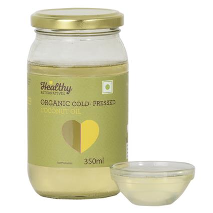 Organic Cold Pressed Coconut Oil - Healthy Alternatives