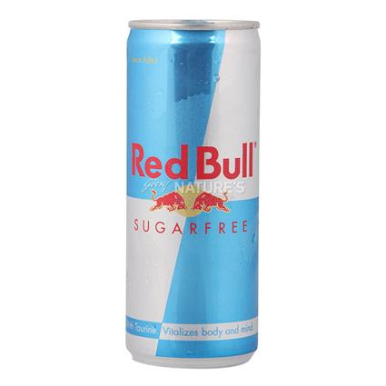 Energy Drink  -  Sugar Free - Red Bull