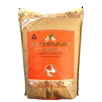 Select Whole Wheat Atta - Aashirvaad