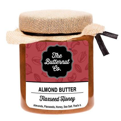 Flaxseed Honey Almond Butter - The Butternut Co.