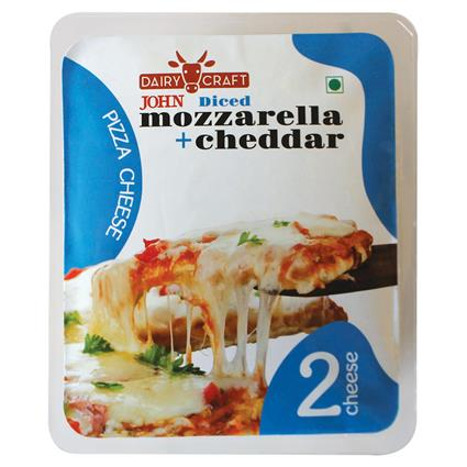 Grated 2 Cheese For Pizza 200G - John's