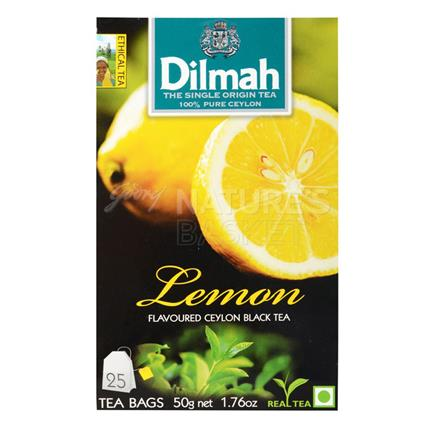 Lemon Flavoured Ceylon Black Tea - 25 Tb - Dilmah