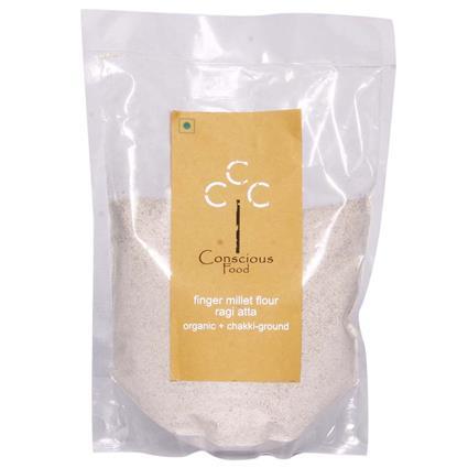 Finger Millet Flour/Ragi Atta  -  Organic - Conscious Food