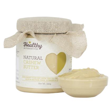 Cashew Butter - Healthy Alternatives