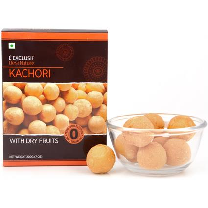 Kachori W/ Dry Fruits - L'exclusif