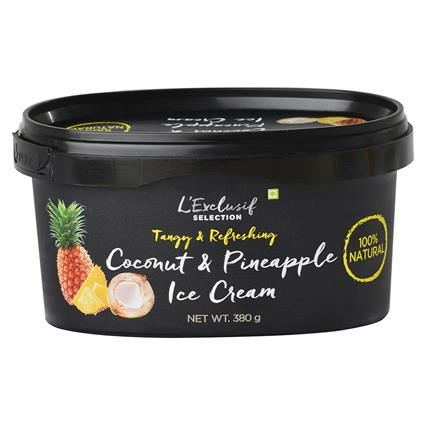 Coconut Pineapple Ice Cream - L'exclusif