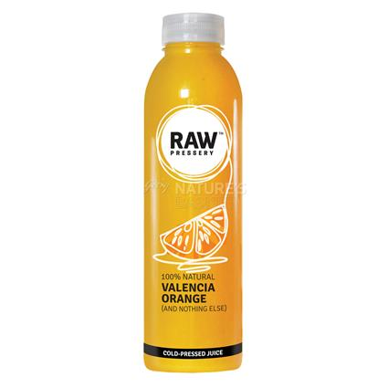 Cold Pressed Juice Valencia Orange - Raw Pressery