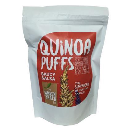Quinoa Puffs Saucy Salsa - The Green Snack Co