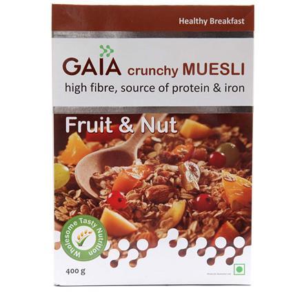 Crunchy Muesli  -  Fruit & Nuts - Gaia